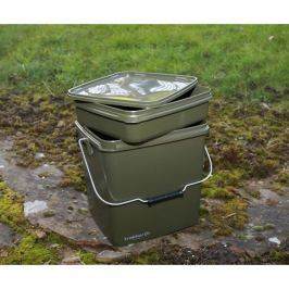 Trakker Plastový box na krmení – Olive Square Container 13L