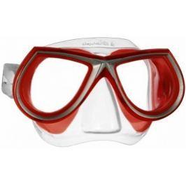 Mares Maska STAR LIQUIDSKIN, Mares, trans./červená