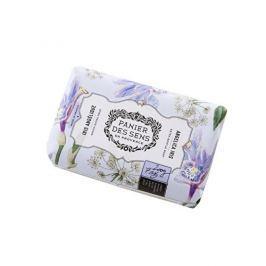 Panier des Sens Extra jemné přírodní mýdlo s bambuckým máslem Iris a Andělika (Extra Gentle Soap) 200 g