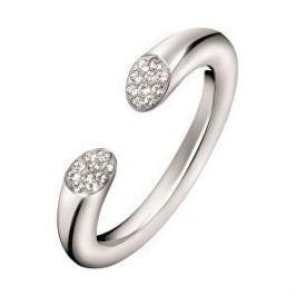 Calvin Klein Otevřený prsten s krystaly Brilliant KJ8YMR0401 (Obvod 55 mm)