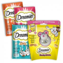 Dreamies Snacky Mouse + 3x Dreamies 60g