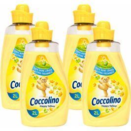 Coccolino Happy Yellow aviváž 4x 2 l