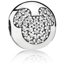 Pandora Stříbrný klip Disney Mickey Mouse 791449CZ stříbro 925/1000