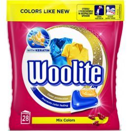 Woolite gelové kapsle Mix Colors 28 ks