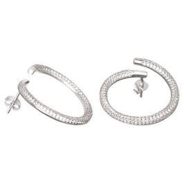 Preciosa Fashion stříbrné náušnice s krystaly Finespun 5200 00 stříbro 925/1000