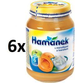 Hamánek S meruňkami a tvarohem 6x190g
