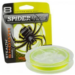 Spiderwire Splétaná šňůra Stealth Smooth 8 150 m žlutá 0,08 mm, 7,3 kg