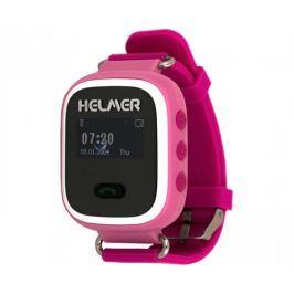 Helmer Chytré hodinky s GPS lokátorem LK 702 růžové