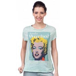 Pepe Jeans dámské tričko Sunny S tyrkysová