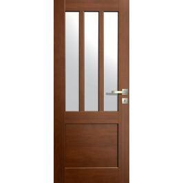VASCO DOORS Interiérové dveře LISBONA kombinované, model 5, Dub rustikál, C