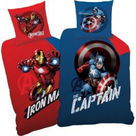 CTI Povlečení Captain America/Iron man Mission 140x200, 70x90