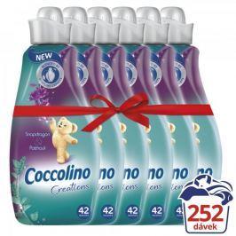 Coccolino Creations Snapdragon & Patchouli aviváž 6 x 1,5 l (252 praní)