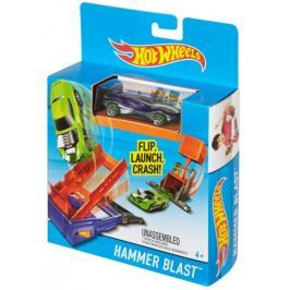 Hot Wheels Dráha do kapsy Hammer Blast