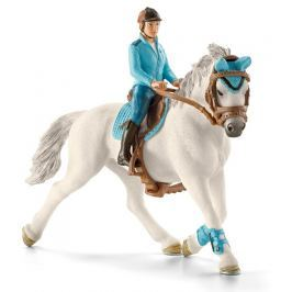 Schleich Žokej na koni 42111