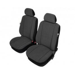 KEGEL Potahy na přední sedadla Scotland Super XL Air Bag Lux, barva černá
