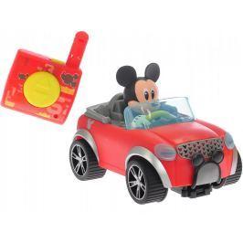Mikro hračky Mickey Mouse R/C cabriolet, 16cm