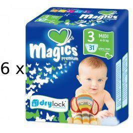 Magics Premium Midi Megapack - 186ks - II. jakost