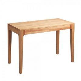 Artenat Psací stůl se zásuvkami Theodor, 110 cm, buk