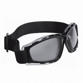 Held motocyklové brýle  kouřové, černo-stříbrný rám