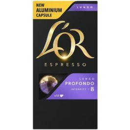 L'Or Lungo Profondo Intenzita 8 - 100 hliníkových kapslí kompatibilních s kávovary Nespresso® *
