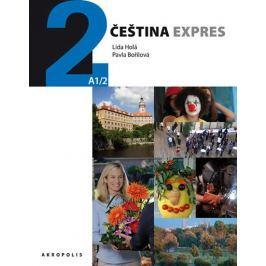Holá Lída, Bořilová Pavla: Čeština expres 2 (A1/2) anglická + CD