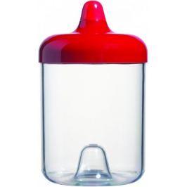 Viceversa Stohovatelná plastová dóza 1L červená s víčkem