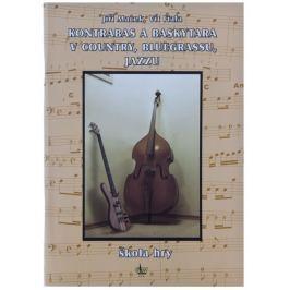 KN Kontrabas a baskytara v country, bluegrassu a jazzu - Jiří Macek, Vít Fiala Škola hry na baskytaru a kontrabas
