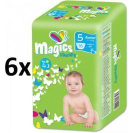 Magics Flexidry Junior (11-25kg) Megapack - 96 ks