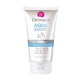 Dermacol Mycí gel na obličej s mořskými řasami Aqua Beauty 3v1 (Face Cleansing Gel) 150 ml