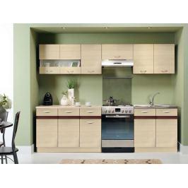 Kuchyně ELIZA 200/260 cm, rijeka světlá