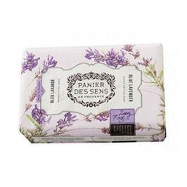 Panier des Sens Extra jemné přírodní mýdlo s bambuckým máslem Modrá levandule (Extra Gentle Soap) 200 g