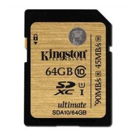 Kingston SDXC 64GB 90MB/s UHS-I (SDA10/64GB)