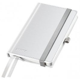 Zápisník Leitz Style A6 tvrdé desky čtverečkovaný arkticky bílý