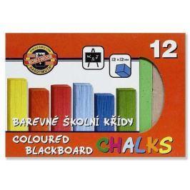 Křída školní barevná - 12 barev