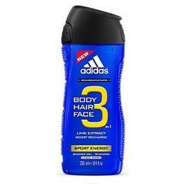 Adidas Sprchový gel pro muže 3 v 1 Sport Energy Shower Gel (Objem 250 ml)