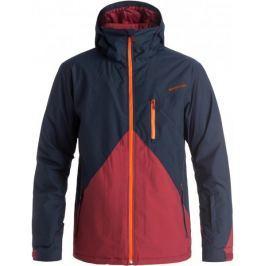 Quiksilver Mission Colorblock Jacket M Snowjacket Navy Blazer L