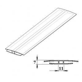 LanitPlast Polykarbonátový H-profil 4 mm 3 m