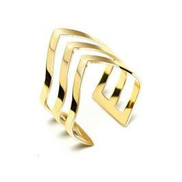 Troli Trojitý pozlacený prsten z oceli