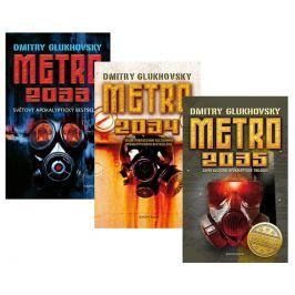 Glukhovsky Dmitry: Komplet Metro 2033 + Metro 2034 + Metro 2035