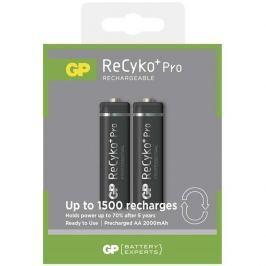 GP ReCyko+ Pro series AA, nabíjecí, 2000 mAh, 2 ks + USB nabíječka