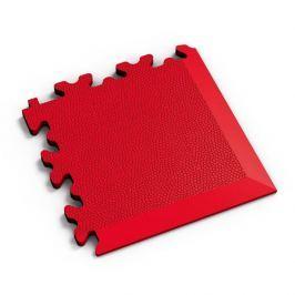Fortelock Červený plastový vinylový rohový nájezd 2026 (kůže) - 14 x 14 x 0,7 cm