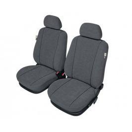 KEGEL Potahy na přední sedadla Elegance Super XL Air Bag LUX, barva šedá