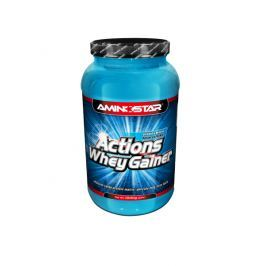 Aminostar Whey Gainer Actions 1000g-Vanilka
