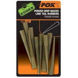 Fox Převleky Power Grip Naked line Tail Rubbers Size 7 x 10 ks