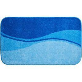 LineaDue Kvalitní česká koupelnová předložka, FLASH 70x120 cm, modrá