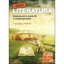 Hravá literatura 8 - učebnice