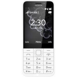 Nokia 230 Dual SIM, bílá