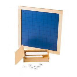 Montessori pomůcky Stovková tabule