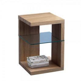 Artenat Odkládací stolek Domingo, 60 cm, Sonoma dub