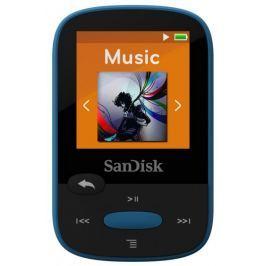 SanDisk Clip Sport 8,192 modrá - II. jakost